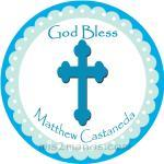 Baptism Stickers Personaliz..